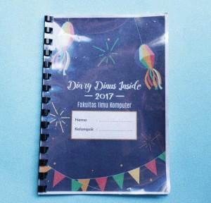 Contoh diary Dinus Inside FIK 2017 -Belakang